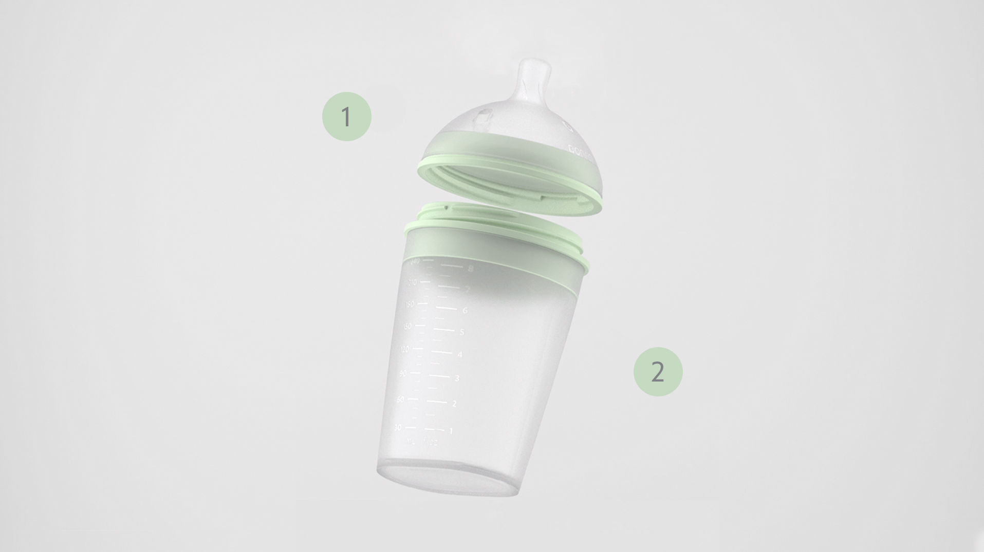 BORRN Feeding Bottle